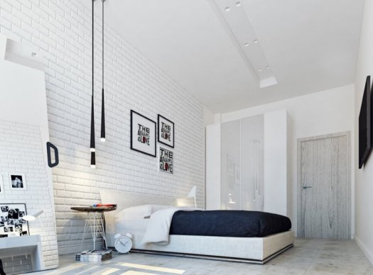 white-bedrooms-with-pops-of-color-simply-vs-dove-wall-interior-decorating-and-cream-painting-walls-exposed-brick-design-navy-bedding-room-bedroom-best-trim-sherwin-williams-should-860x63